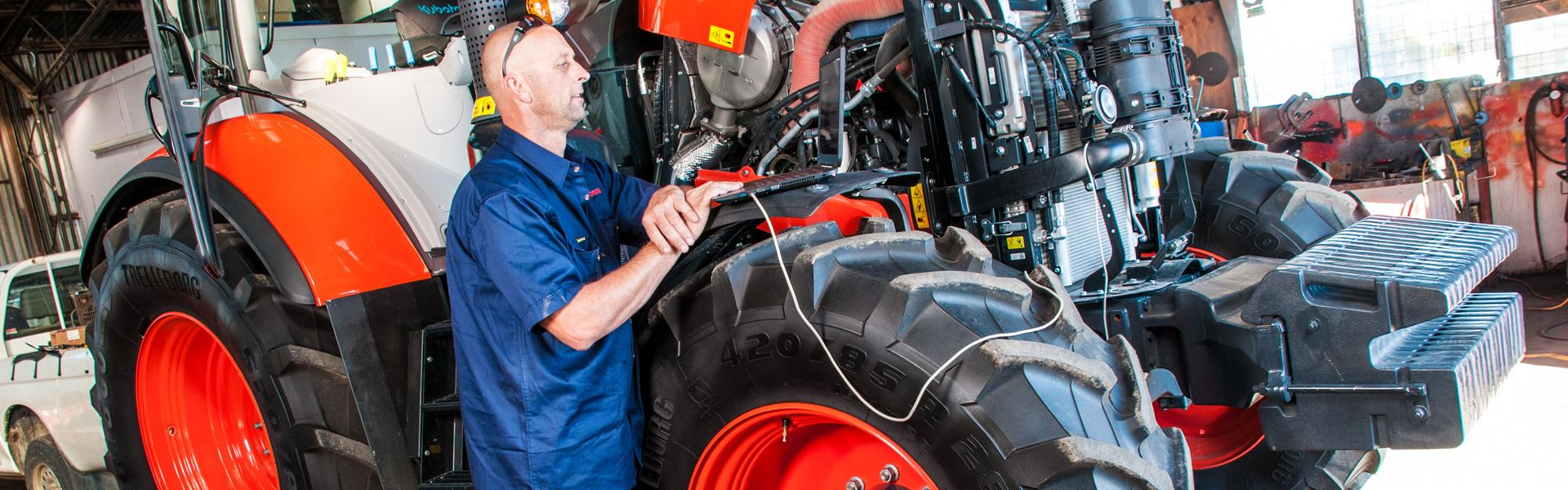 We service and repair all farm machinery