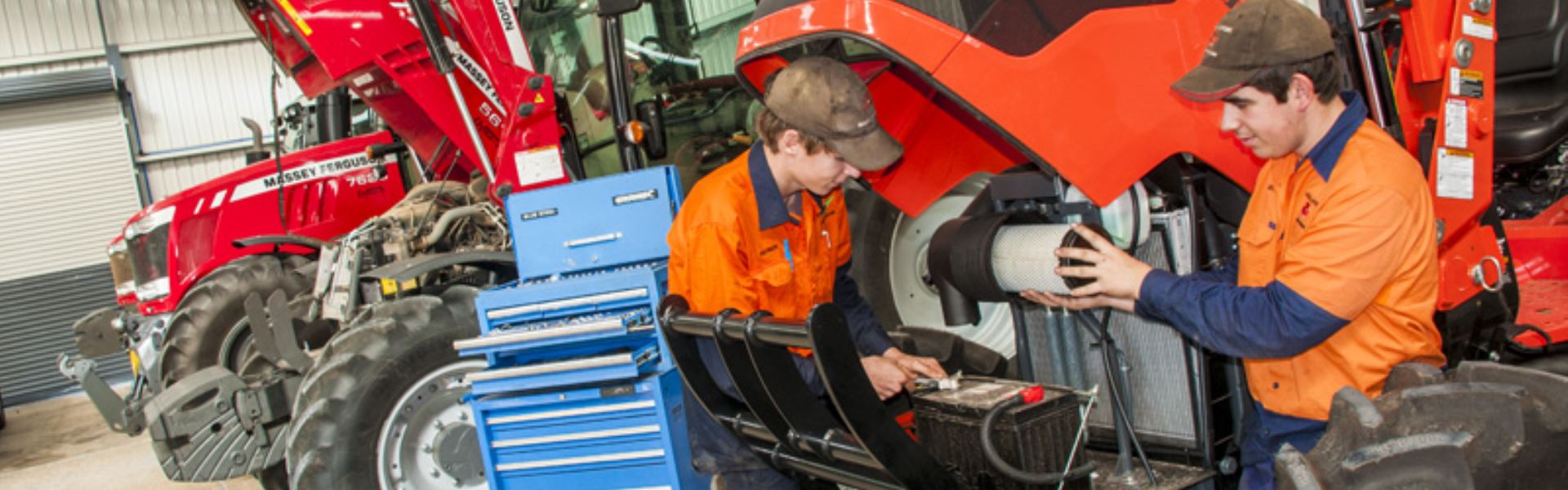 We Sell, Service & Repair Tractors & Machinery